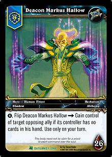 Deacon markus hallow