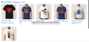Wander over yonder t-shirts