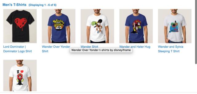 File:Wander over yonder t-shirts.png