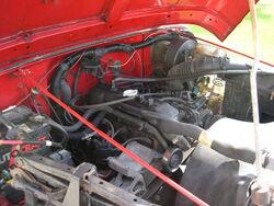 1992 Jeep YJ AMC I4 engine