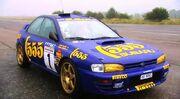 Colin McRae's Subaru