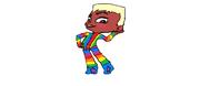 Stripepo Rainbowhip