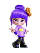 Holly's recolour, Violet