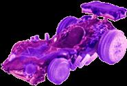 Purple's kart