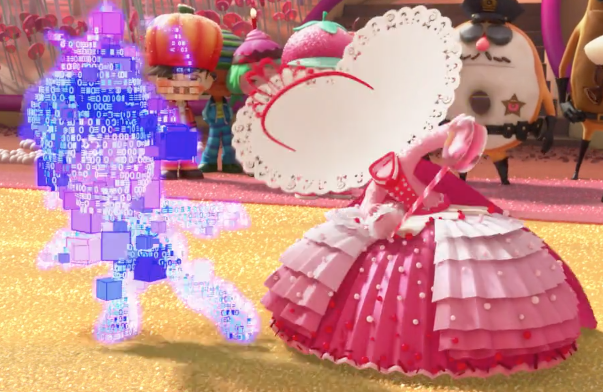 File:Vanellope Dress Glitch.png
