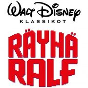 Wreck It Ralph logo Finnish