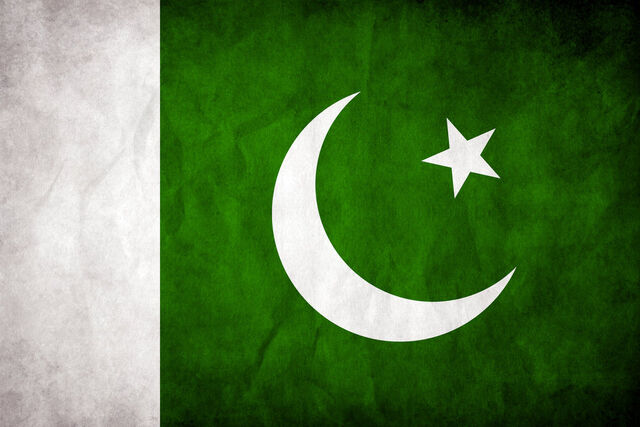 File:Pakistan Grungy Flag by think0.jpg