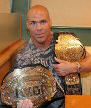 Kurt Angle IWGP Champion
