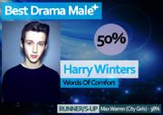 WRIXAS Winter 14 Best Drama Male winner