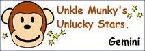 Munkys stars gemini