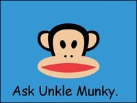 Ask unkle munky