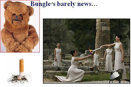 Bungles barely news olympic