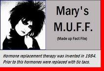 Marys muff tic tacs