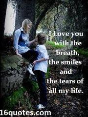 Awww... love...