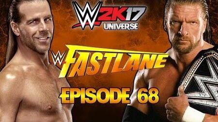 WWE 2K17 Universe - EPISODE 68 Fastlane 2017 Live-0