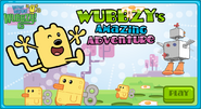 Wubbzy's Amazing Adventure Title Screen (Version 2)