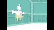 131 Robo-Cluck Breaks Through Wall