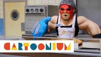 WWE Slam City - Cafeteria Chaos - Kane vs Santino Marella