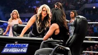 Divas Championship Match Contract Signing- SmackDown, July 12, 2013