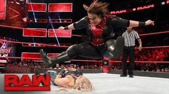 Mickie James vs. Dana Brooke vs. Nia Jax - Triple Threat Qualifying Match- Raw, Aug. 7, 2017