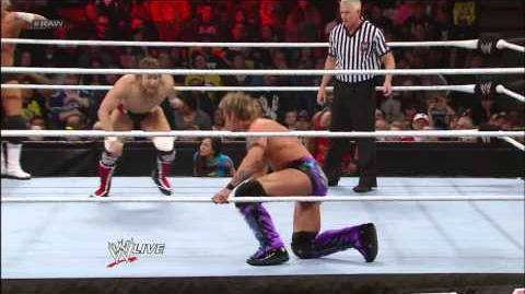 Chris Jericho & Dolph Ziggler vs. Team Hell No - Raw Roulette Strange Bedfellows Match Raw, Jan
