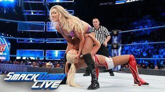 Charlotte Flair vs. Lana- SmackDown LIVE, Aug. 8, 2017