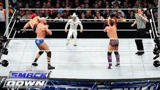 Los Matadores & El Torito vs. Cesaro, Kidd & Natalya – 6-Being Interspecies Match- SmackDown