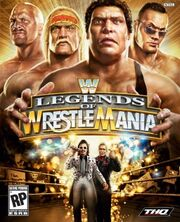 WWE Legends of WrestleMania cover