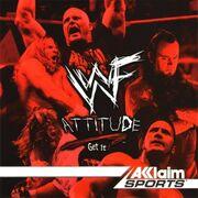 WWF Attitude PSX cover
