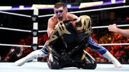 Cody grappling Goldust