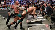 Orton tossed Mahal
