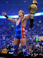 Swagger win the World Heavyweight Champion