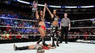 Nikki defeated AJ-Lee