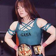 Toshie-Uematsu-Wearing-WCW-Belt