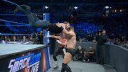 Dean diving on Miz