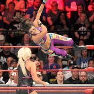 Bayley elbowing Dana