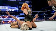 Becky wins against Charlotte