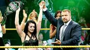 Paige as NXT Womens Champions