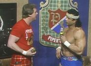 Jimmy-Snuka and Roddy Pipper Piperpit