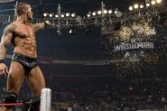 Randy Orton winning the Royal Rumble 2009