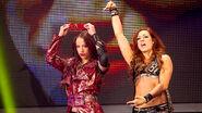 Becky and Sasha at NXT