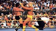Hogan hitting Ted DiBiase