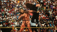 Undertaker attacking Gonzalez