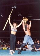 Justin as ECW Champions