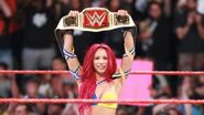Sasha winning the Women Champion
