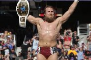 Daniel Bryan as winning the Intercontinental Champion