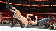 Dean-Ambrose backdrop Cesaro