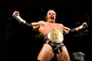 Triple H as World Heavyweight