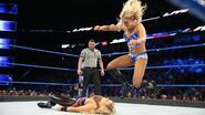 Charlotte knee on Natalya