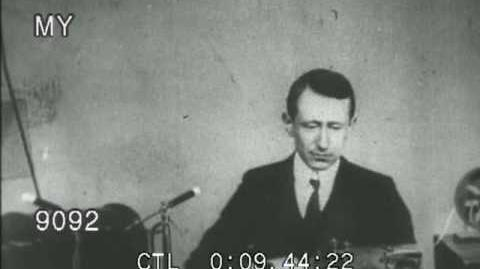 Guglielmo Marconi Demonstrates Wireless Telegraph